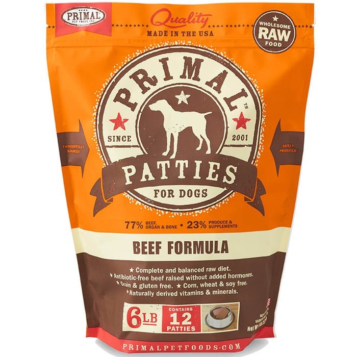 Primal™ | Frozen Raw Beef Formula (Local Delivery ONLY - Will Not Ship)