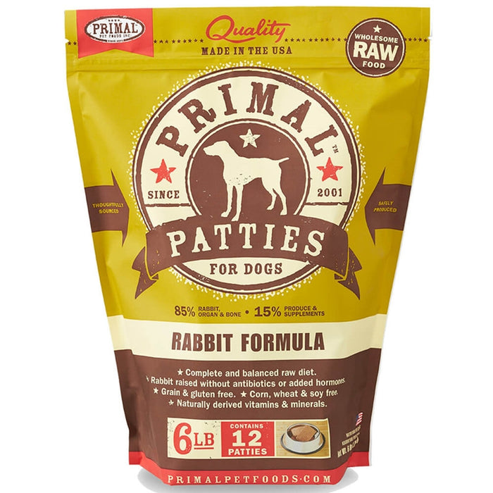 Primal™ | Frozen Raw Rabbit Formula (Local Delivery ONLY - Will Not Ship)