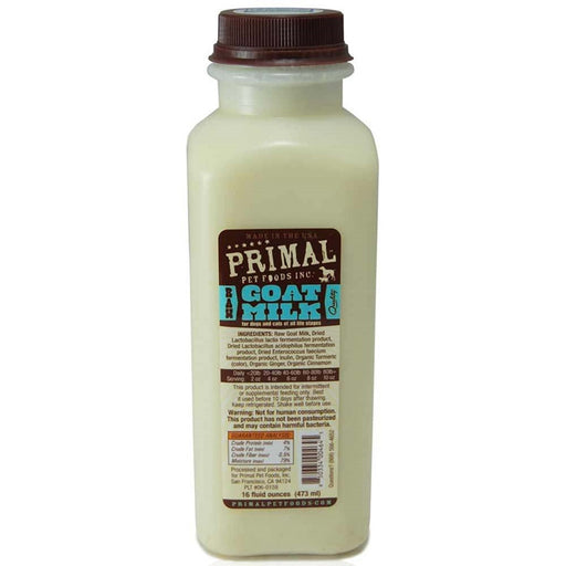 Primal™ | Frozen Raw Goat Milk (Local Delivery ONLY - Will Not Ship)