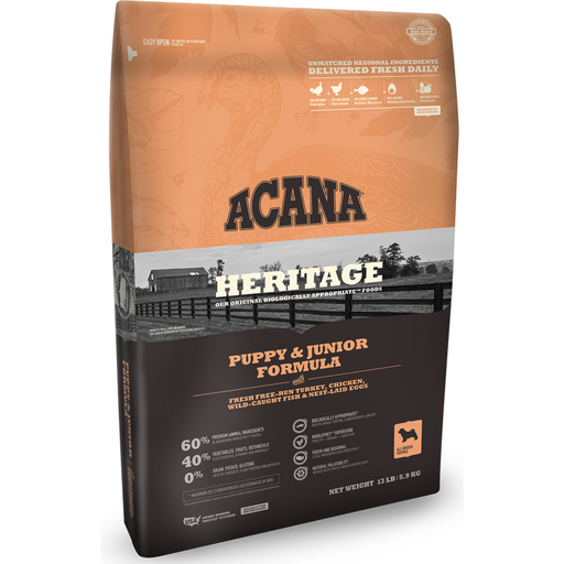 ACANA | Puppy & Jr. Heritage Formula Grain-Free Dry Dog Food
