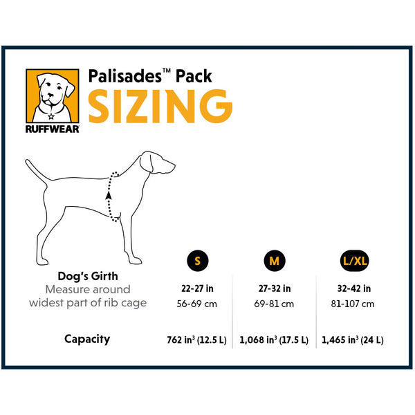 Ruffwear® | Palisades Pack™ Backcountry Dog Pack