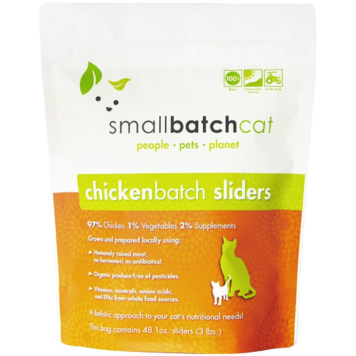 Small Batch | Frozen Chicken Batch Cat Food (Local Delivery ONLY - Will Not Ship)