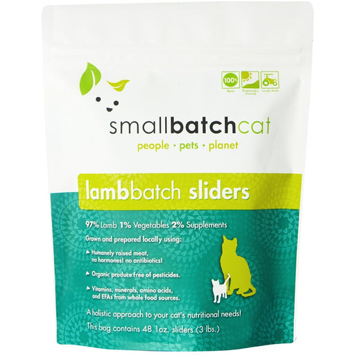 Small Batch | Frozen Lamb Batch Cat Food (Local Delivery ONLY - Will Not Ship)