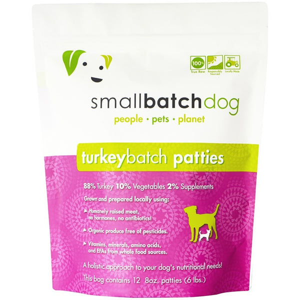 Small Batch | Frozen Turkey Batch Patties & Sliders (Local Delivery ONLY - Will Not Ship)
