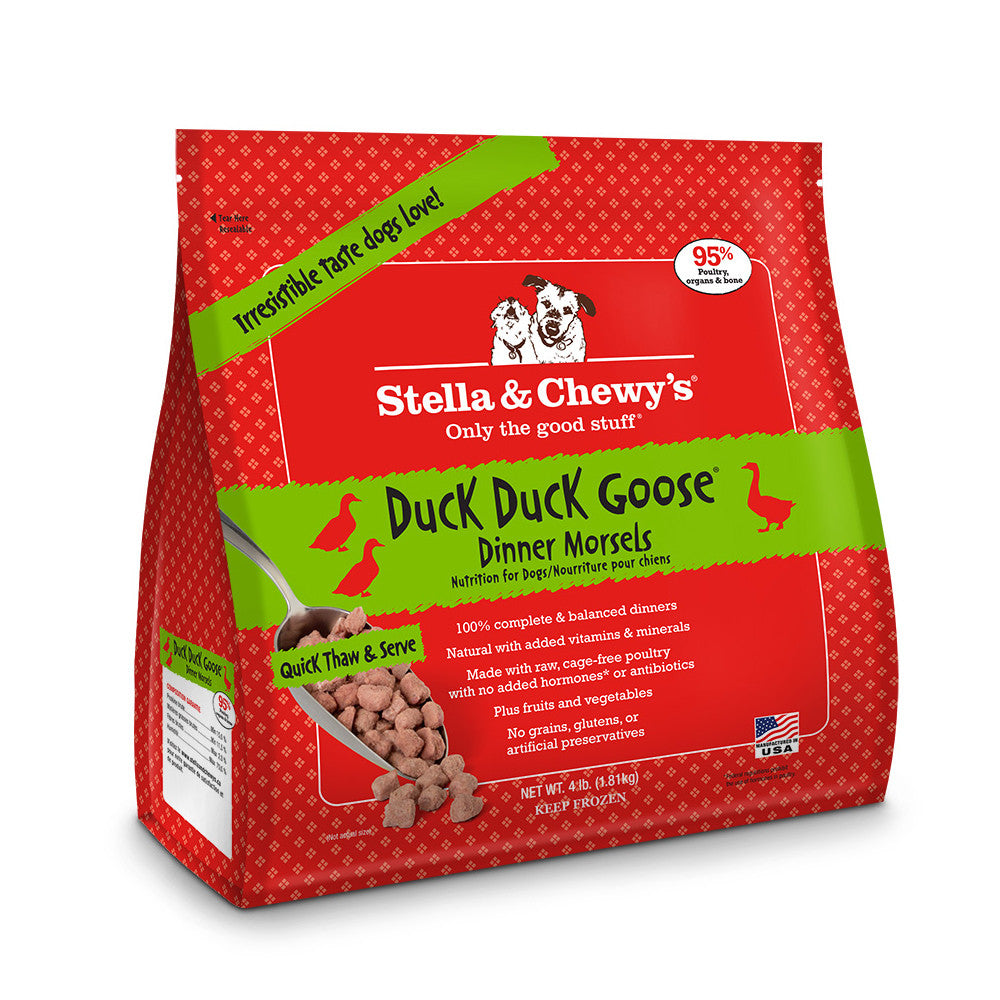 Stella & Chewy's® | Duck Duck Goose™ Frozen Raw Morsels (Local Delivery ONLY - Will Not Ship)