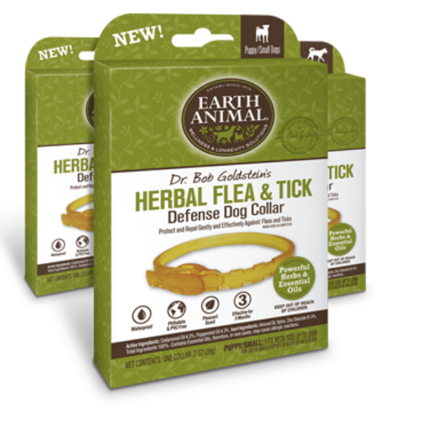Earth Animal | Herbal Flea & Tick Defense Collar for Dogs