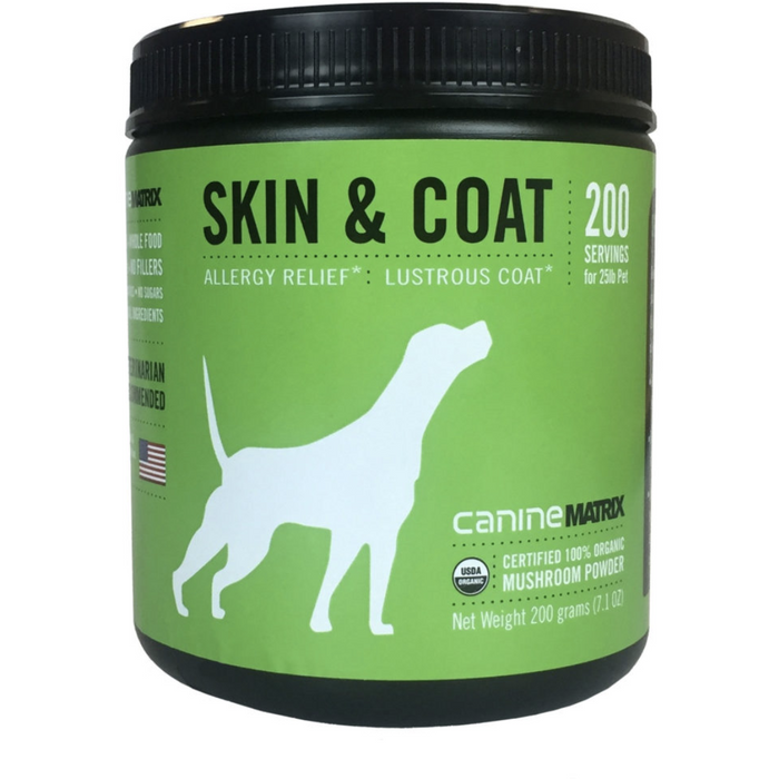 Canine Matrix | Skin & Coat Supplement