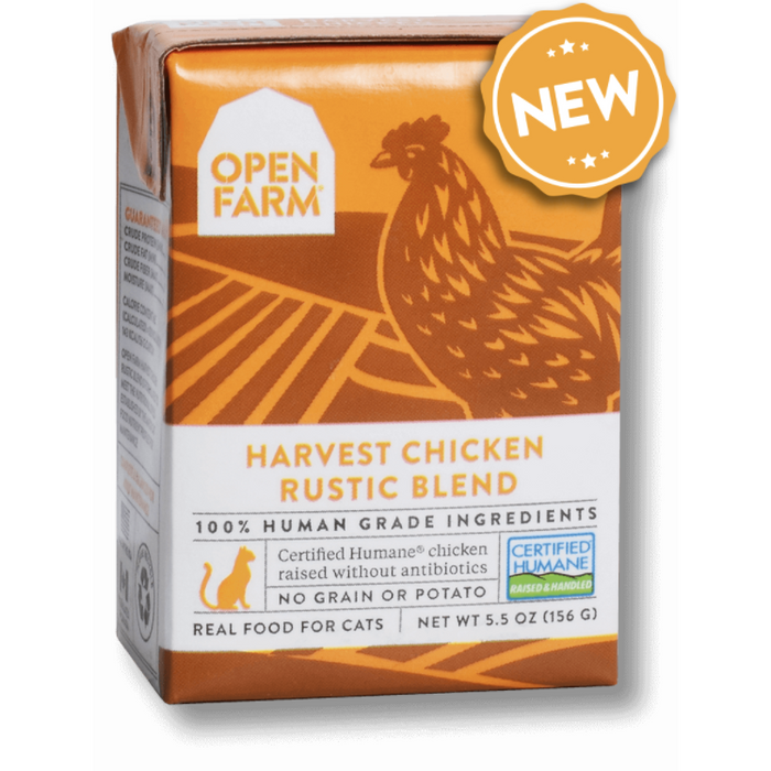 Open Farm | Harvest Chicken Rustic Stew for Cats