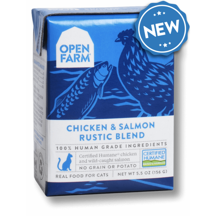 Open Farm | Chicken & Salmon Rustic Stew for Cats