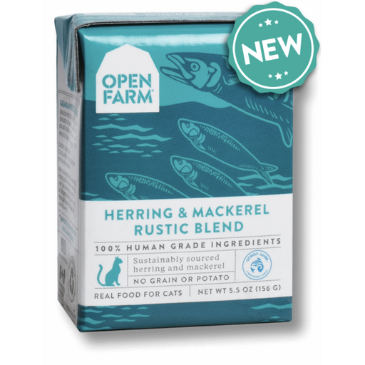 Open Farm | Herring & Mackerel Rustic Stew for Cats
