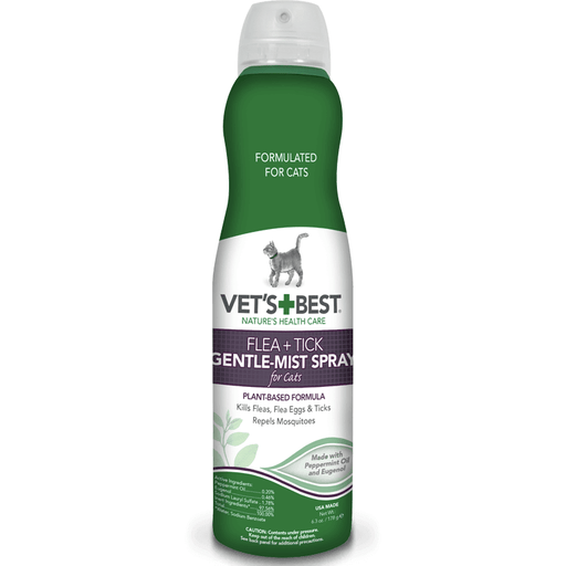 Vet's Best | Flea & Tick Gentle-Mist Spray for Cats