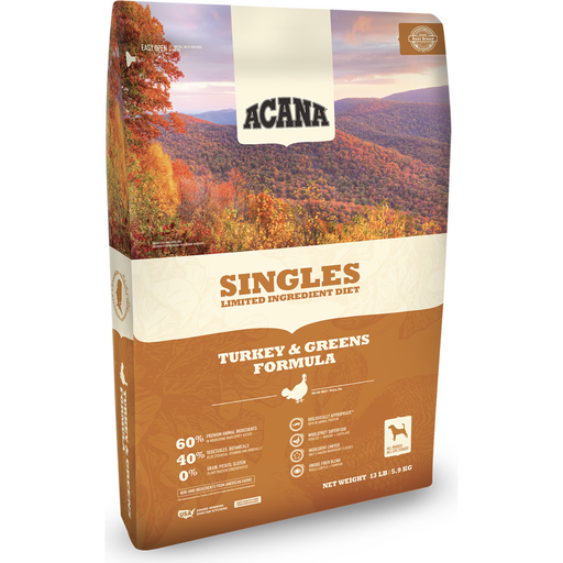 ACANA | Turkey & Greens Singles Formula Grain-Free Dry Dog Food