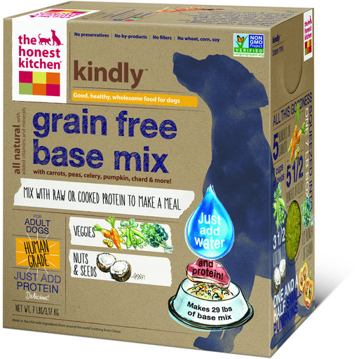 The Honest Kitchen | Kindly™ Grain-Free Base Mix Dehydrated Dog Food