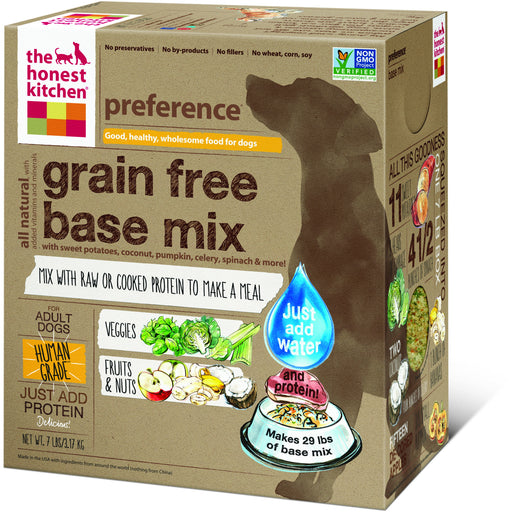 The Honest Kitchen | Preference® Grain-Free Base Mix Dehydrated Dog Food