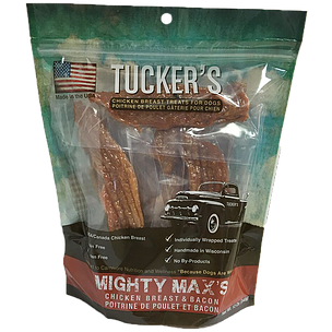 Tucker's | Mighty Max's Chicken Breast & Bacon Treats