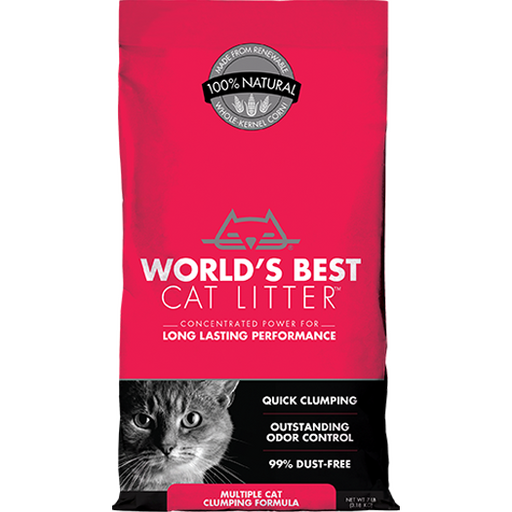 World's Best Cat Litter™ | Multiple Cat Clumping Formula