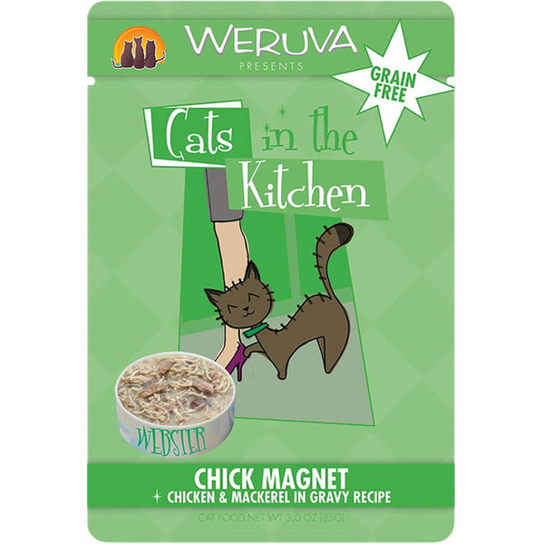 Weruva | Cats In The Kitchen - Chick Magnet - 3 oz Pouch