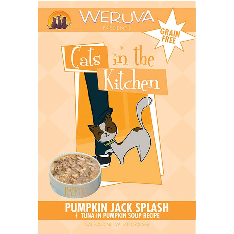 Weruva | Cats In The Kitchen - Pumpkin Jack Splash - 3 oz Pouch