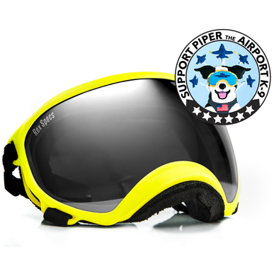 Rex Specs | Dog Goggles - Large - Yellow