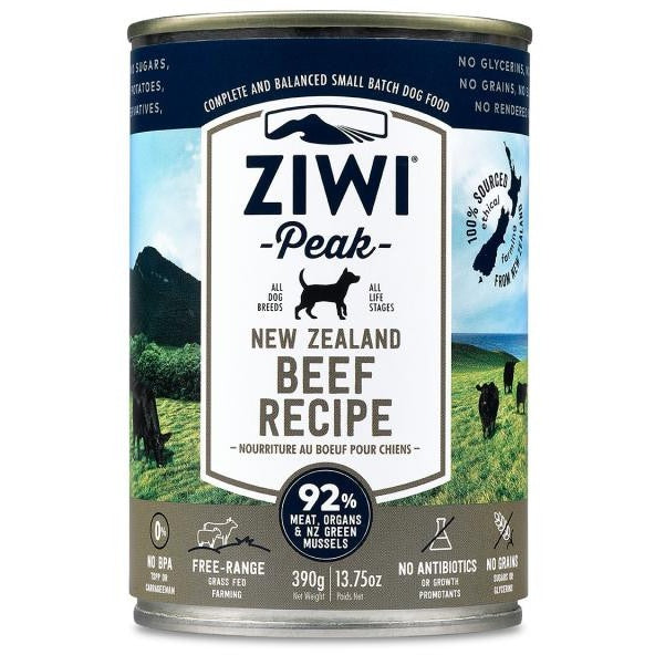 Ziwi® Peak | Moist Beef Canned Dog Food - 13.75 oz