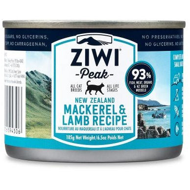 Ziwi® Peak | Moist Mackerel & Lamb Canned Cat Food