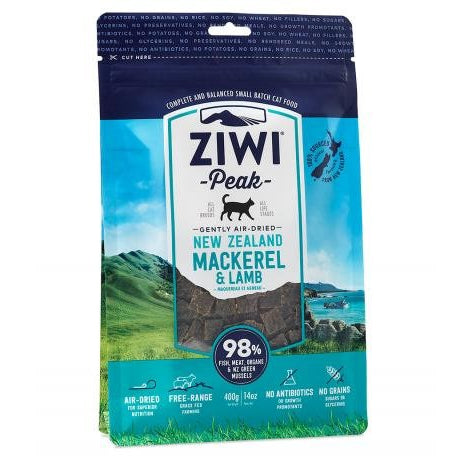 Ziwi® Peak | Air-Dried Mackerel & Lamb Cat Food - 14 oz