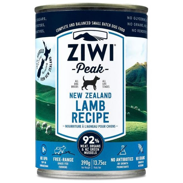 Ziwi® Peak | Moist Lamb Canned Dog Food - 13.75 oz