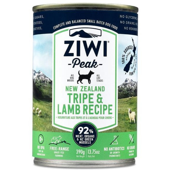 Ziwi® Peak | Moist Tripe & Lamb Canned Dog Food - 13.75 oz