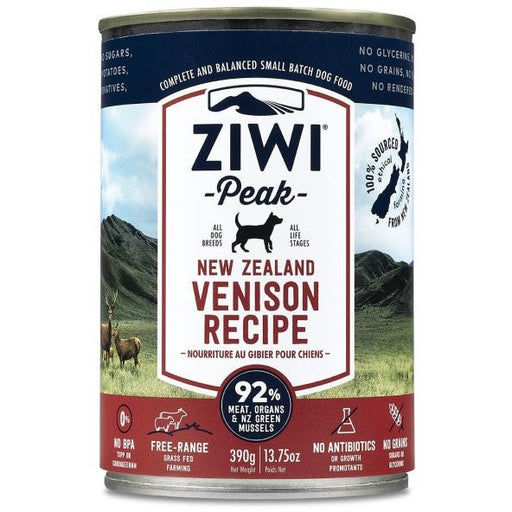 Ziwi® Peak | Moist Venison Canned Dog Food - 13.75 oz