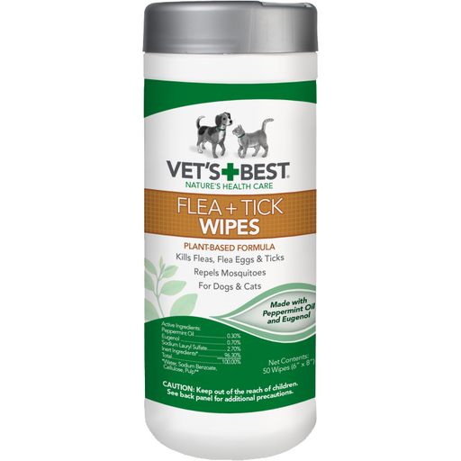 Vet's Best | Flea & Tick Wipes