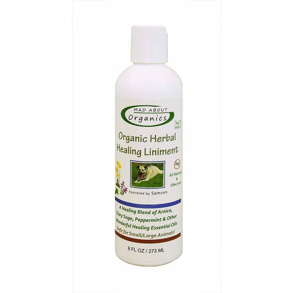 Mad About Organics | Organic Herbal Healing Liniment