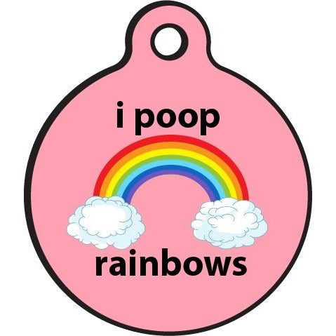 Bad Tags | I Poop Rainbows