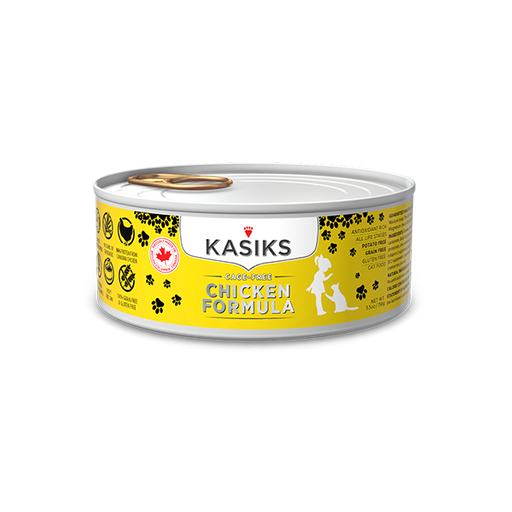 Kasiks | Cage Free Chicken Canned Cat Food