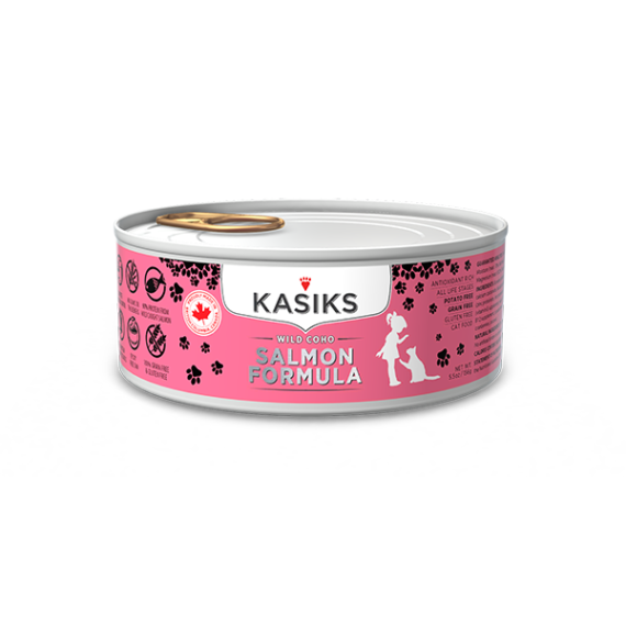 Kasiks | Wild Salmon Canned Cat Food
