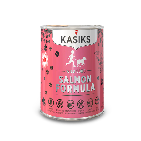 Kasiks | Wild Salmon Canned Dog Food 12.2oz