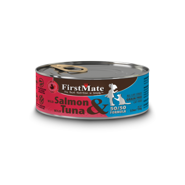 First Mate | Salmon & Tuna Canned Cat Food 5.5oz