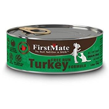 First Mate | Free Run Turkey Canned Cat Food