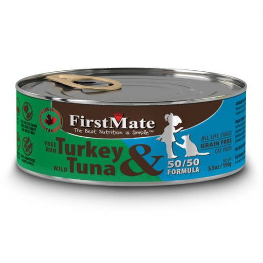 First Mate | Turkey & Tuna Canned Cat Food 5.5oz
