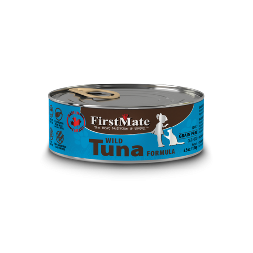 First Mate | Wild Tuna Canned Cat Food 5.5oz