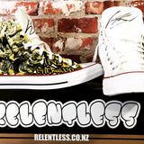 Relentless Custom Converse Ltd. Ed. One-Off Levi Sherwood Chucks for Charity