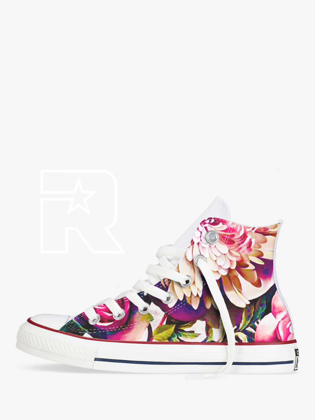 Feels Like Paradise High Top Converse