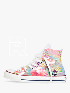 Move over Monet High Top Converse