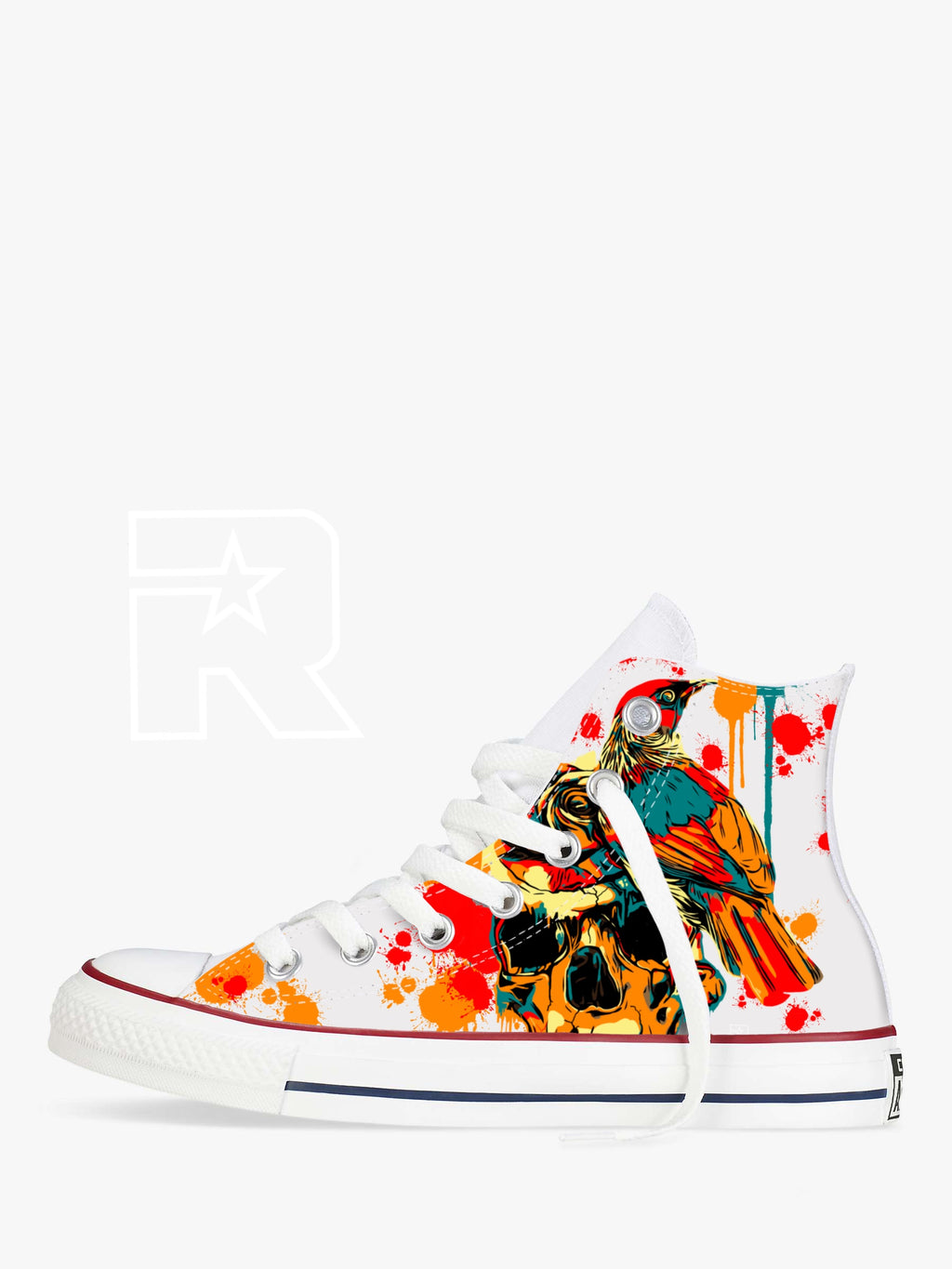 Messenger of the Gods High Top Converse