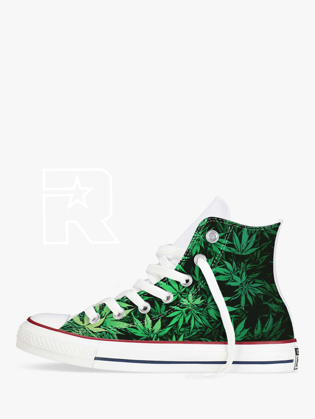Keep NZ Green High Top Converse