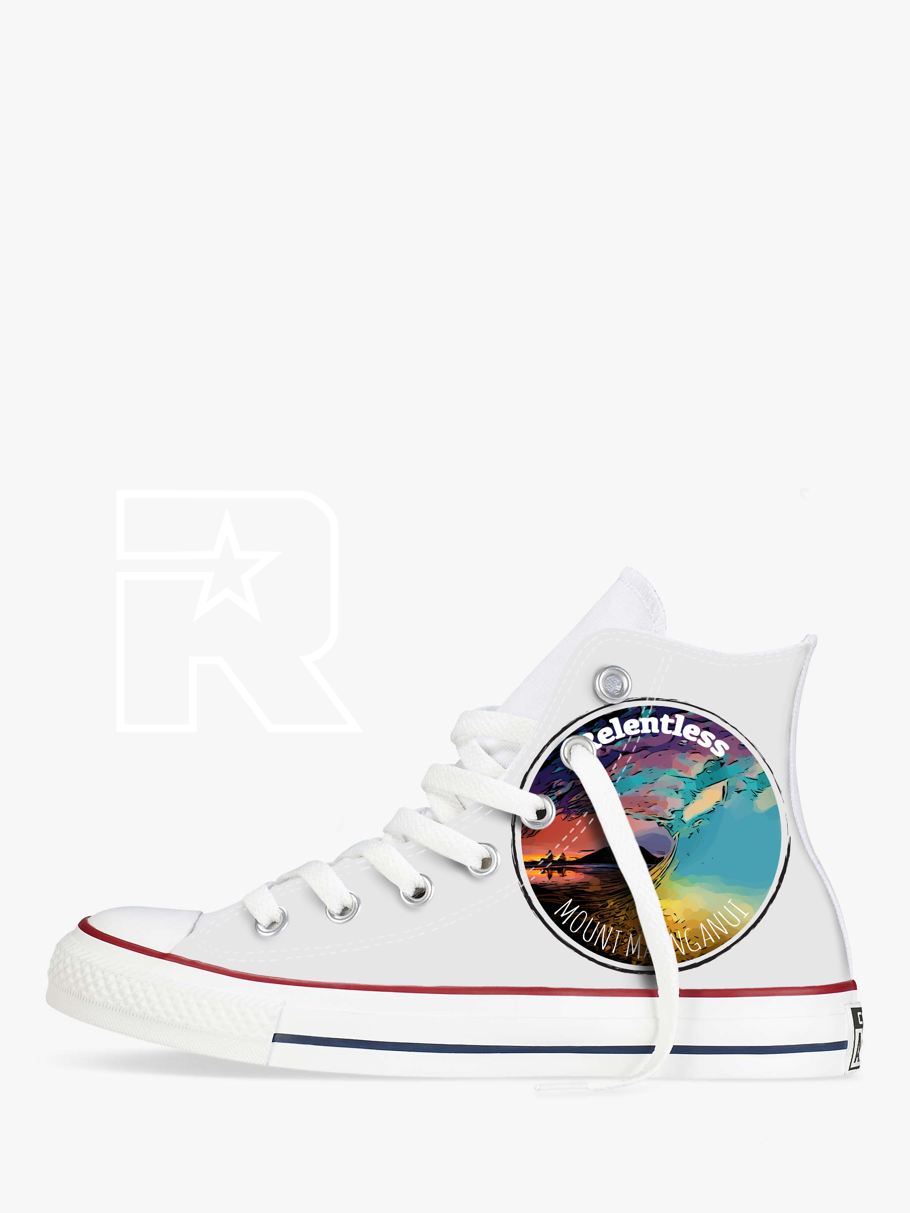 Mauao Beach Life for Life High Top Converse
