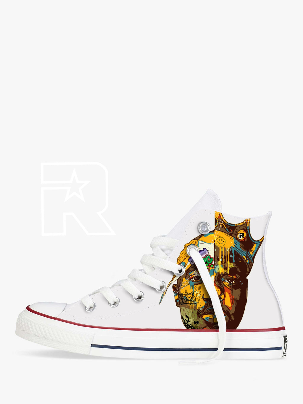 Two Kings High Top Converse