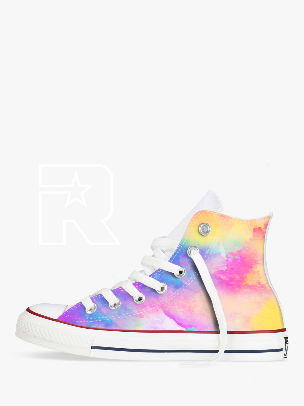 Candyfloss High Top Converse