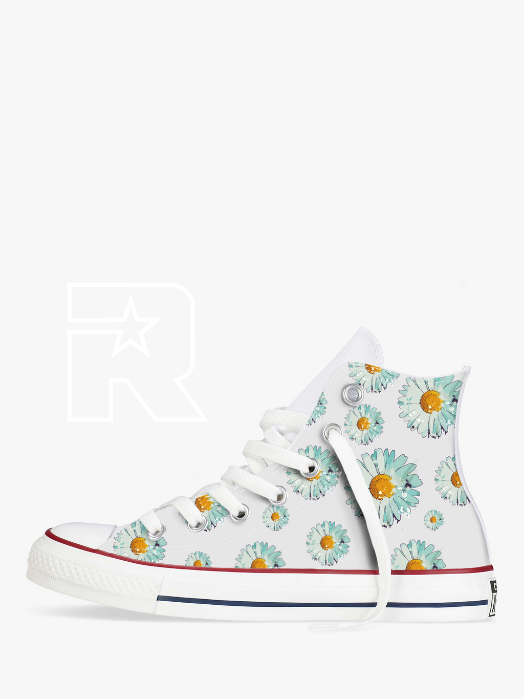 Daisy Chain High Top Converse