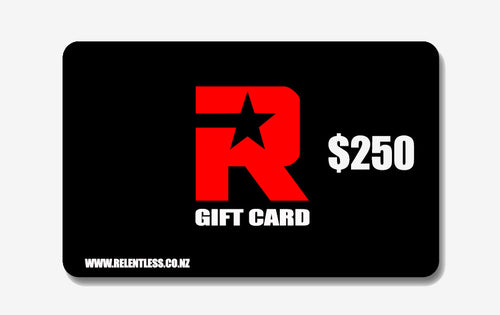 Relentless $250 Gift Card