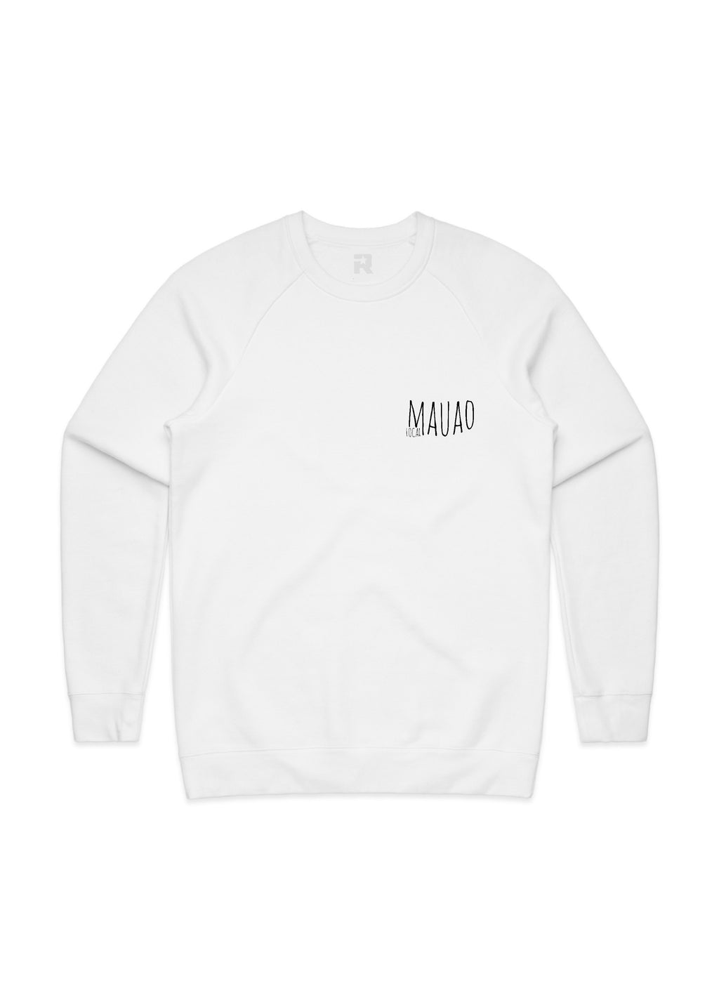 White Mauao Local sweatshirt